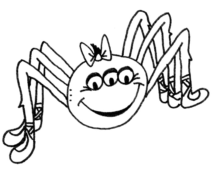 coloring page itsy bitsy spider itsy bitsy spider free printable spider coloring page page coloring spider itsy bitsy