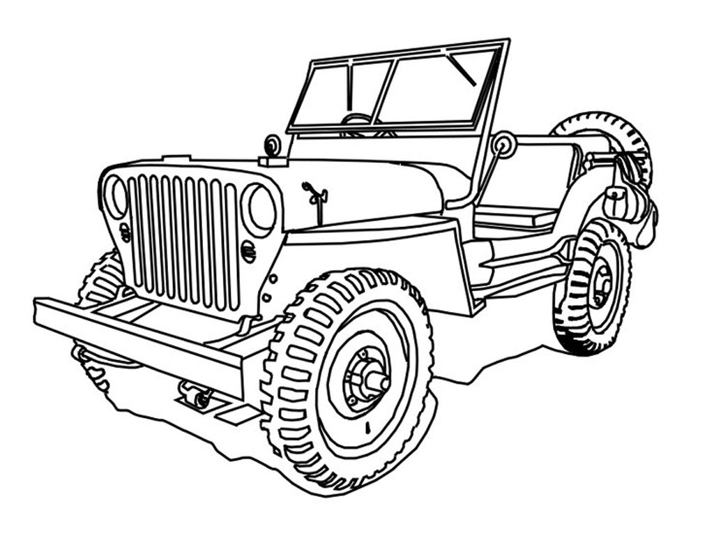 coloring page jeep free jeep coloring pages to print jeep page coloring