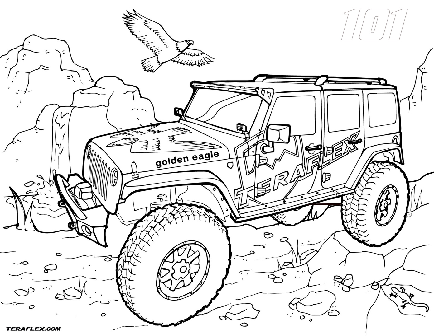 coloring page jeep free jeep coloring pages to print page jeep coloring