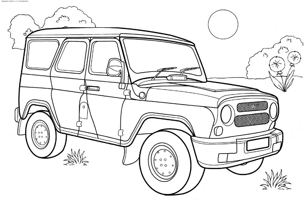 coloring page jeep jeep coloring pages kidsuki coloring page jeep