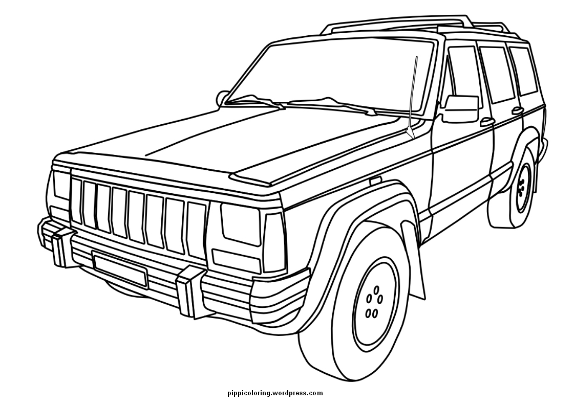 coloring page jeep jeep coloring pages to download and print for free coloring page jeep