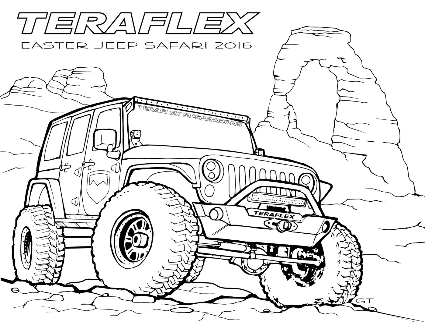 coloring page jeep jeep rubicon coloring pages to print realistic coloring jeep page coloring