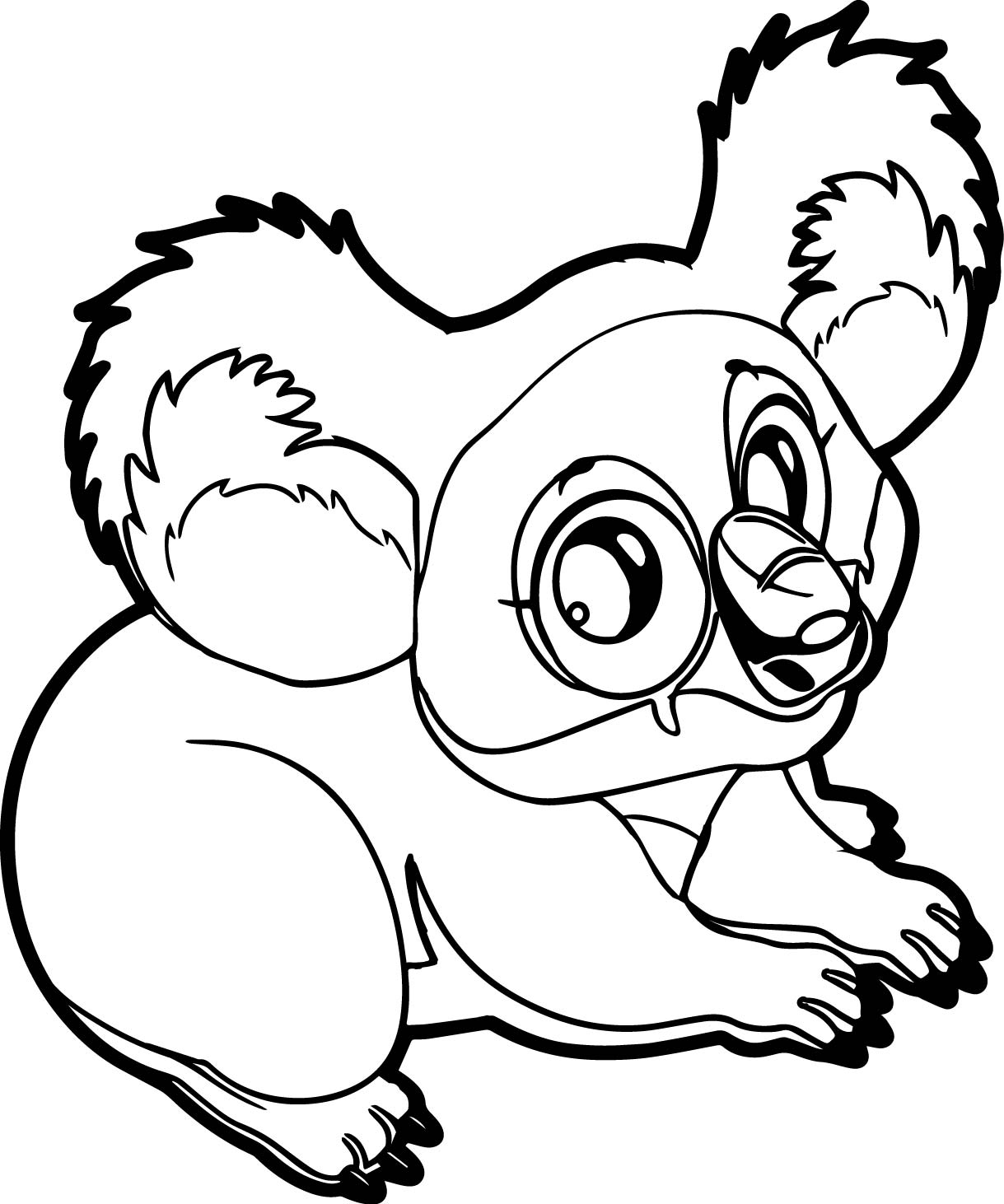 coloring page koala free coloring pages animal coloring pages koala and coloring koala page