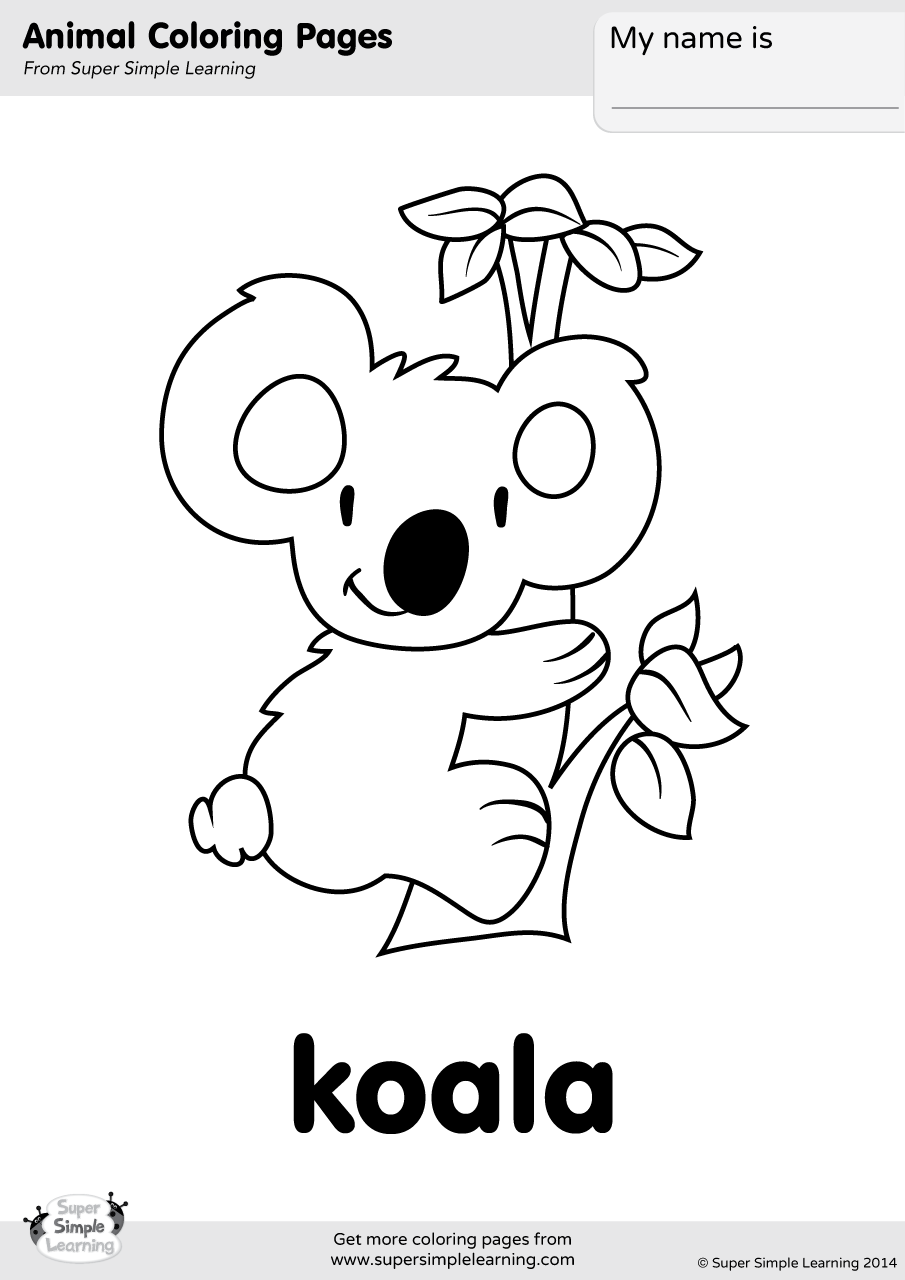 coloring page koala free printable koala coloring pages for kids koala coloring page