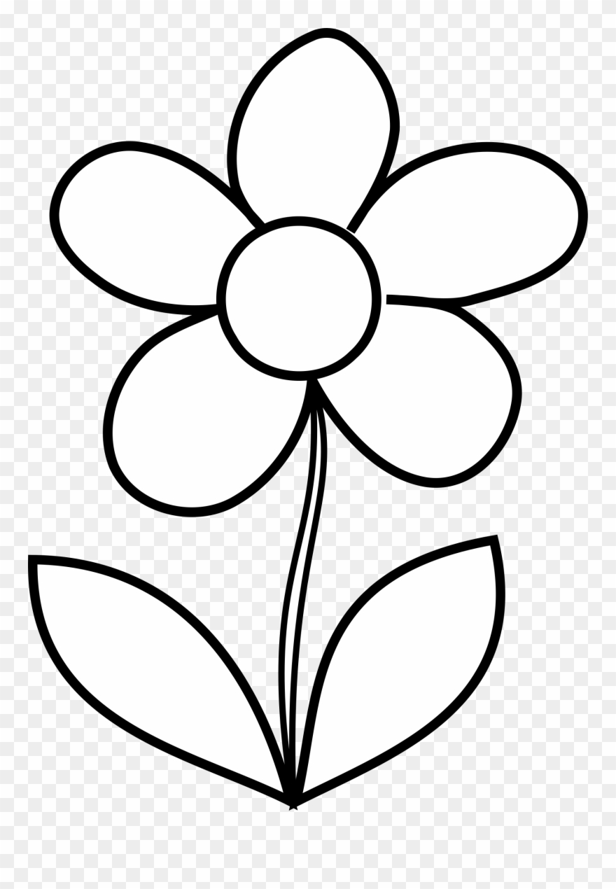 coloring page of a flower wild flowers coloring pages coloring home of flower coloring a page
