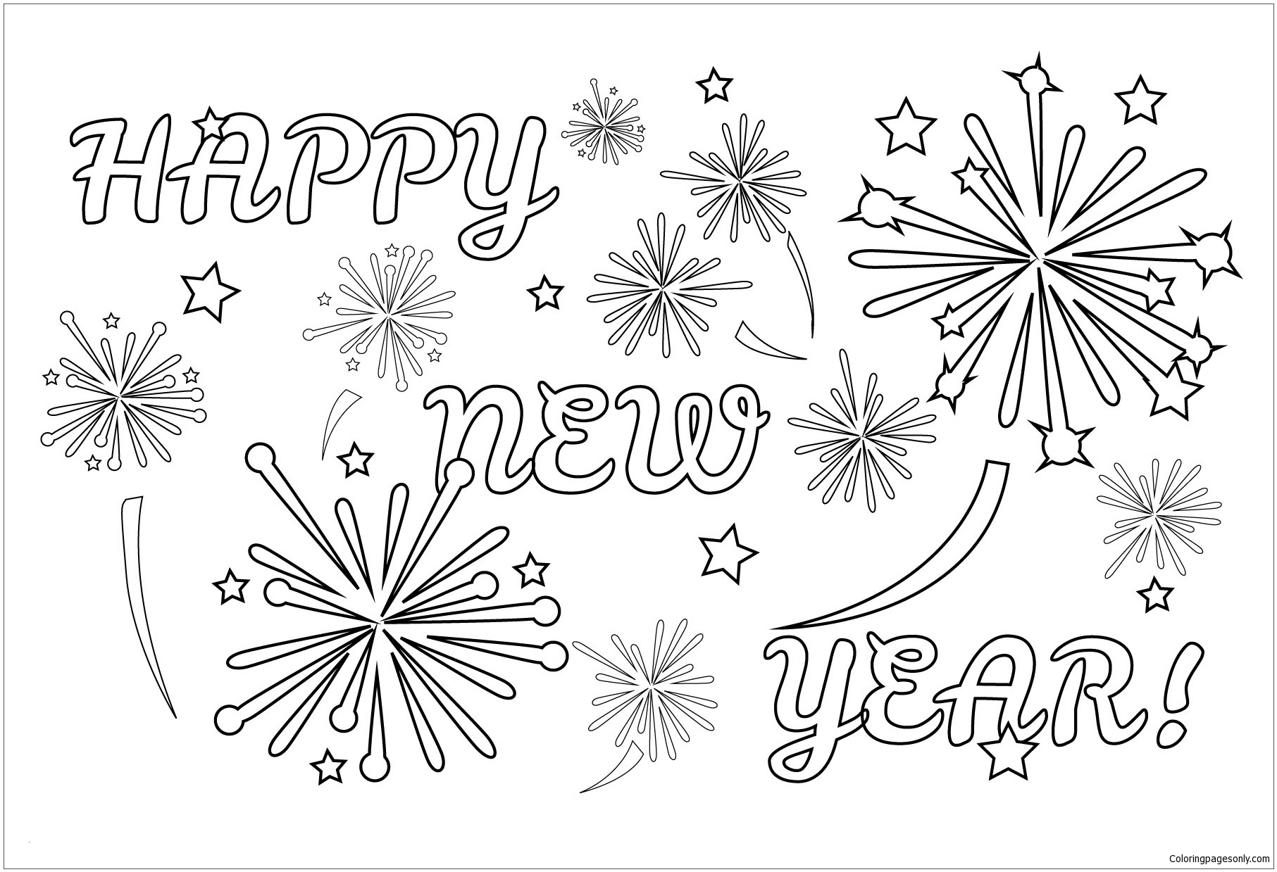 coloring page of fireworks firework coloring pages printable free coloring sheets coloring of fireworks page