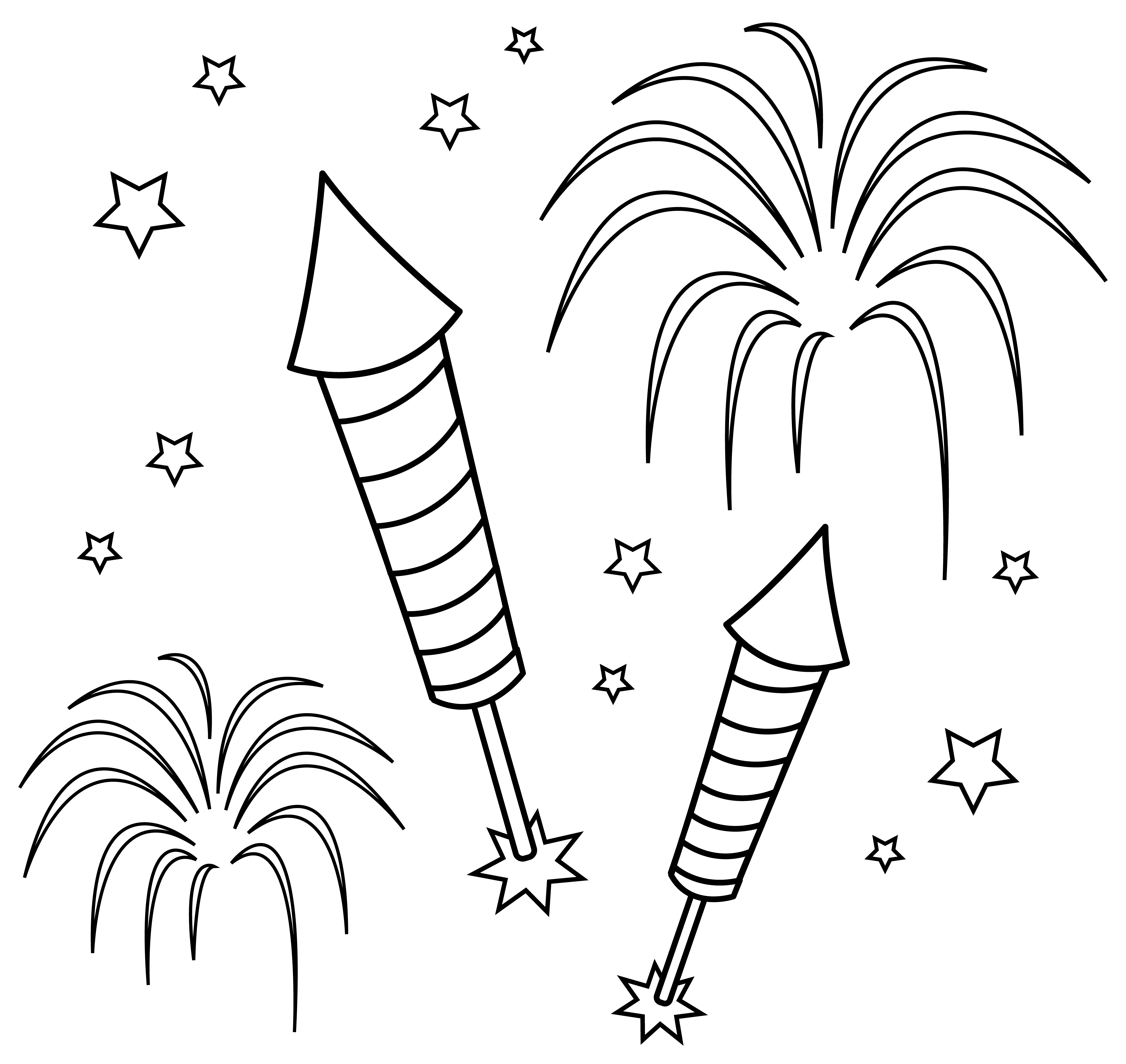 coloring page of fireworks firework coloring pages to download and print for free of coloring page fireworks