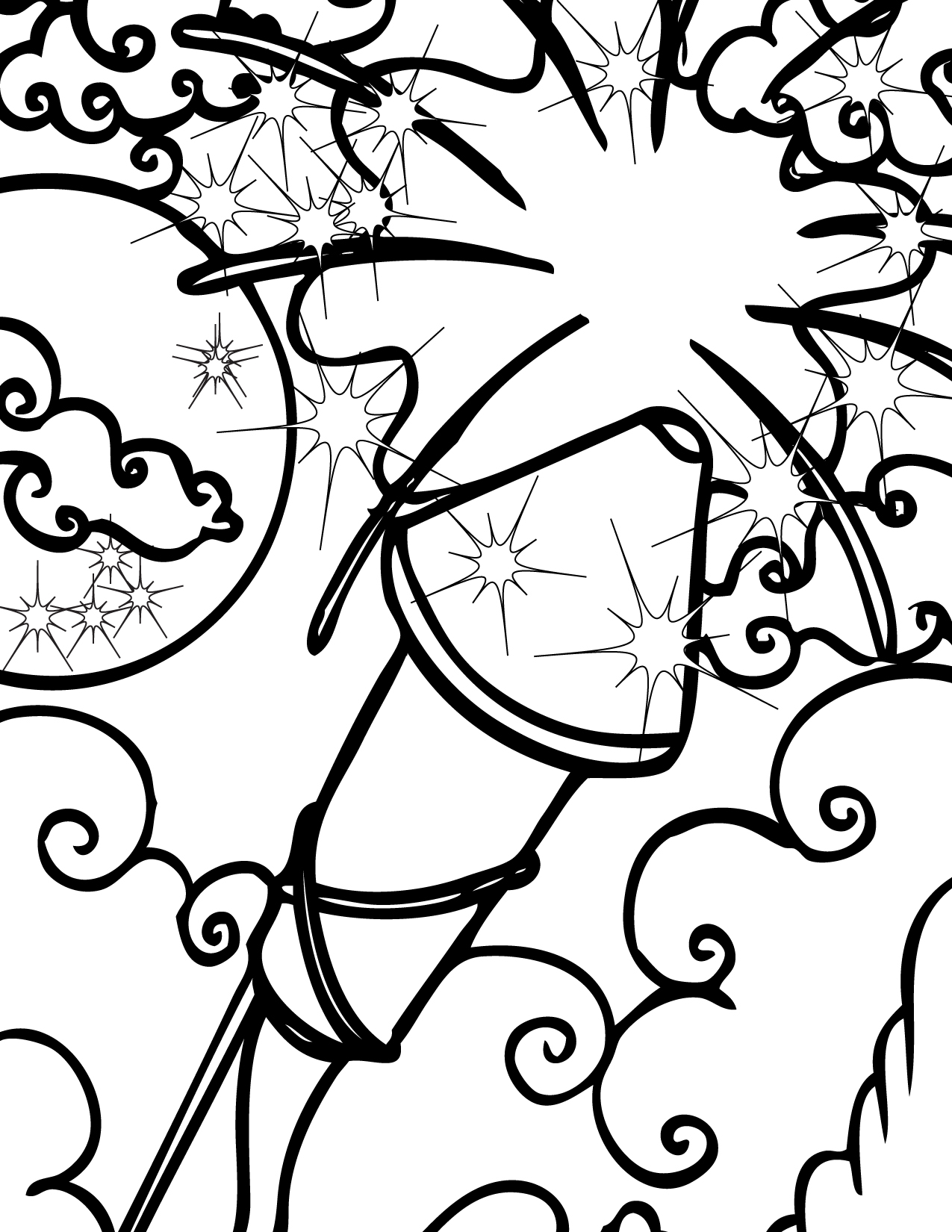 coloring page of fireworks free printable fireworks coloring pages for kids fireworks page coloring of
