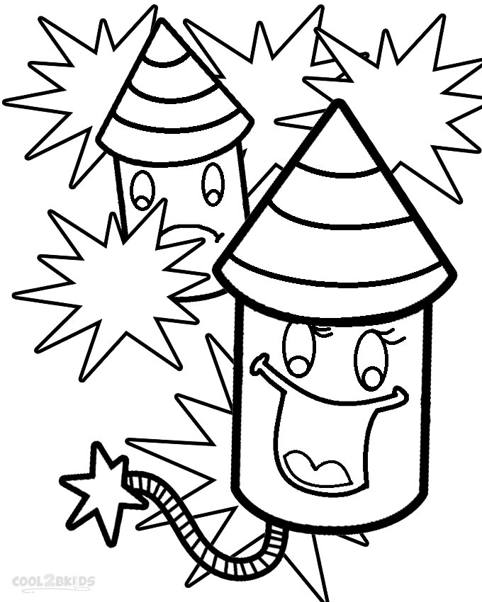 coloring page of fireworks printable fireworks coloring pages for kids cool2bkids fireworks page of coloring