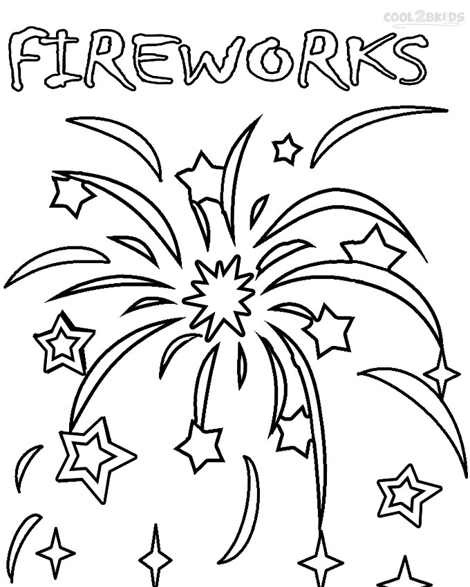 coloring page of fireworks printable fireworks coloring pages for kids cool2bkids page coloring of fireworks