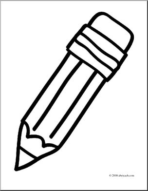 coloring page of pencil pencil flashcard the learning site of pencil coloring page