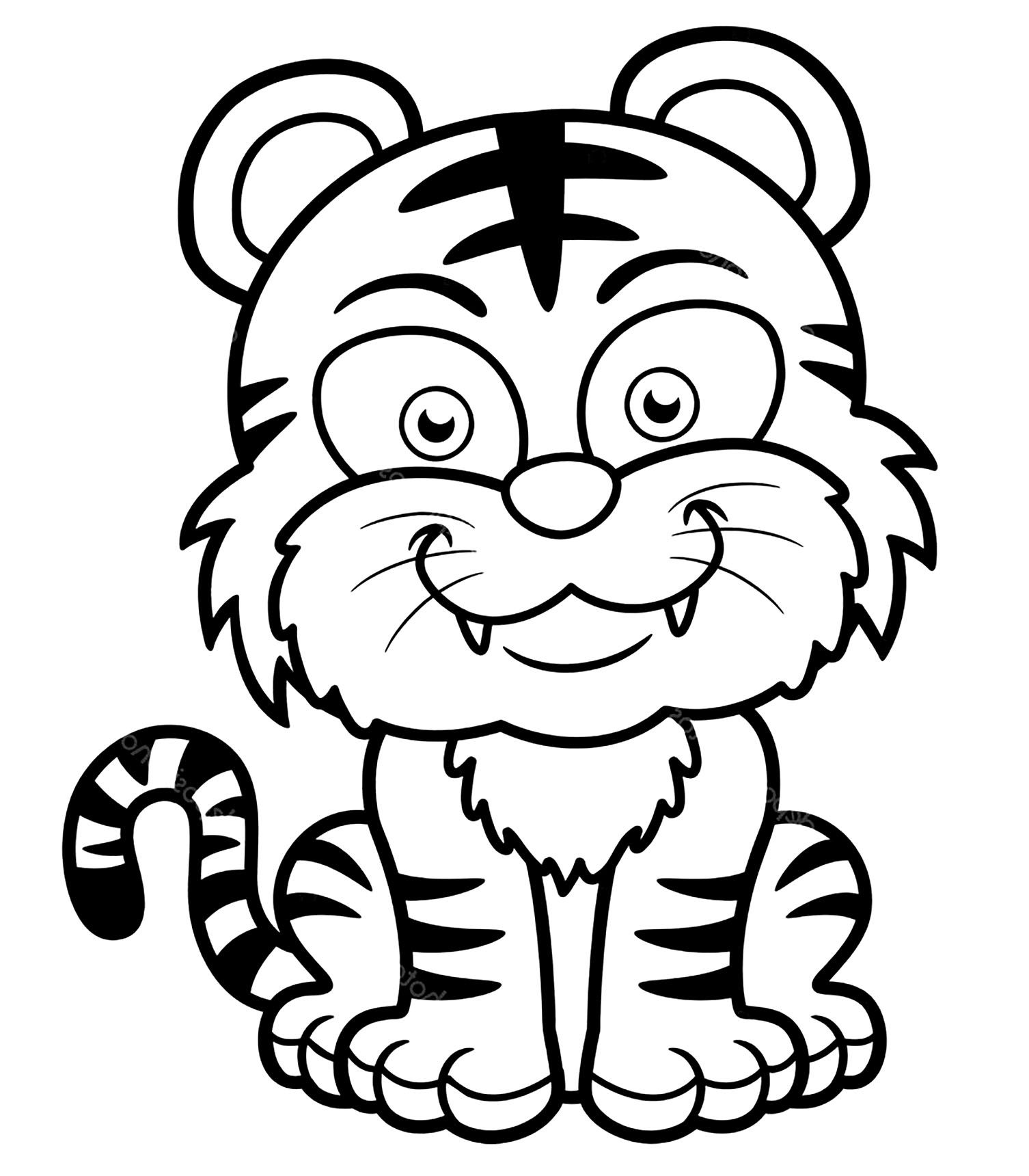 coloring page of tiger free tiger coloring pages page tiger coloring of