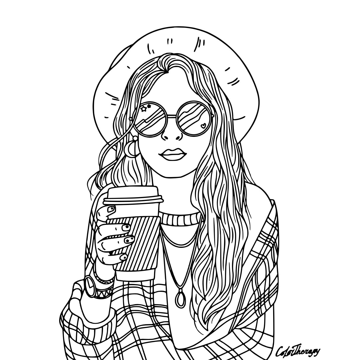 coloring page people people coloring pages getcoloringpagescom coloring page people
