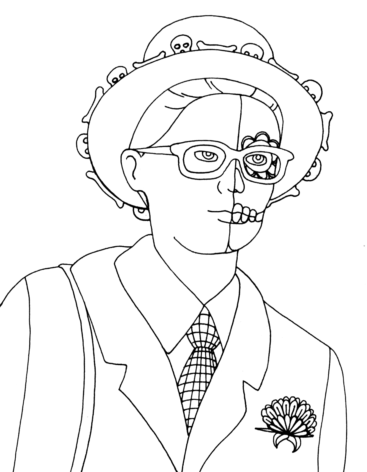 coloring page people pin by desiree on hair bow people coloring pages cute page coloring people