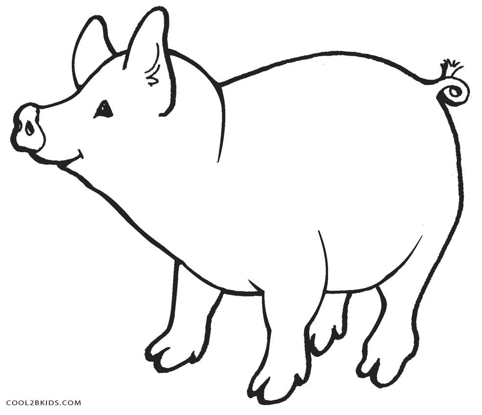 coloring page pig free printable pig coloring pages for kids cool2bkids page coloring pig