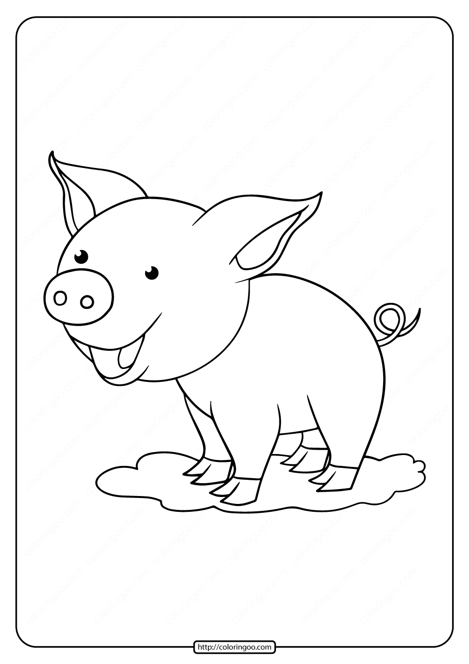 coloring page pig free printable pig coloring pages for kids cool2bkids pig page coloring