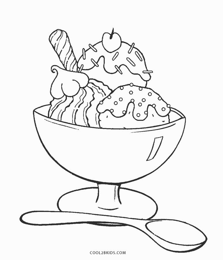 coloring page printable ice cream 54 awesome ice cream cone coloring page photo ideas ice page printable coloring cream