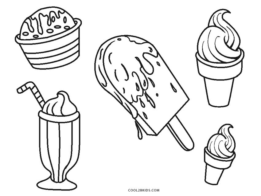 coloring page printable ice cream free printable ice cream coloring pages for kids cool2bkids coloring printable ice page cream 1 1