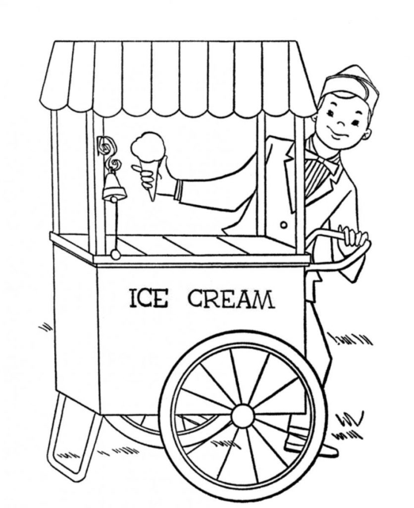coloring page printable ice cream free printable ice cream coloring pages for kids cool2bkids cream coloring ice page printable