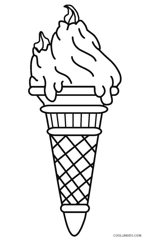 coloring page printable ice cream free printable ice cream coloring pages for kids cream coloring ice page printable