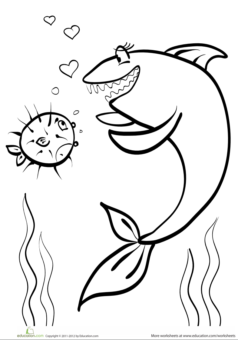 coloring page shark shark coloring page page shark coloring