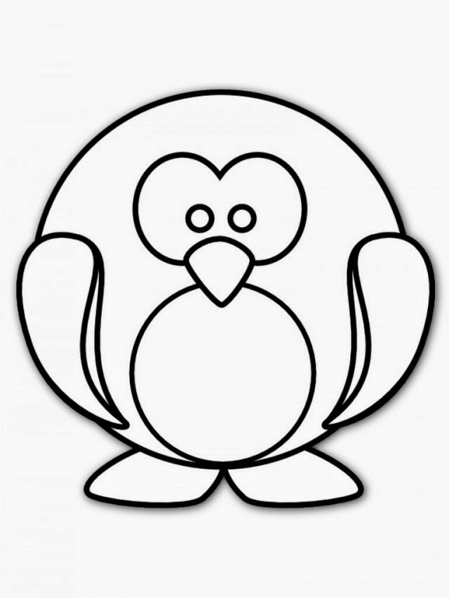 coloring page simple simple owl drawing for kids download print online page coloring simple