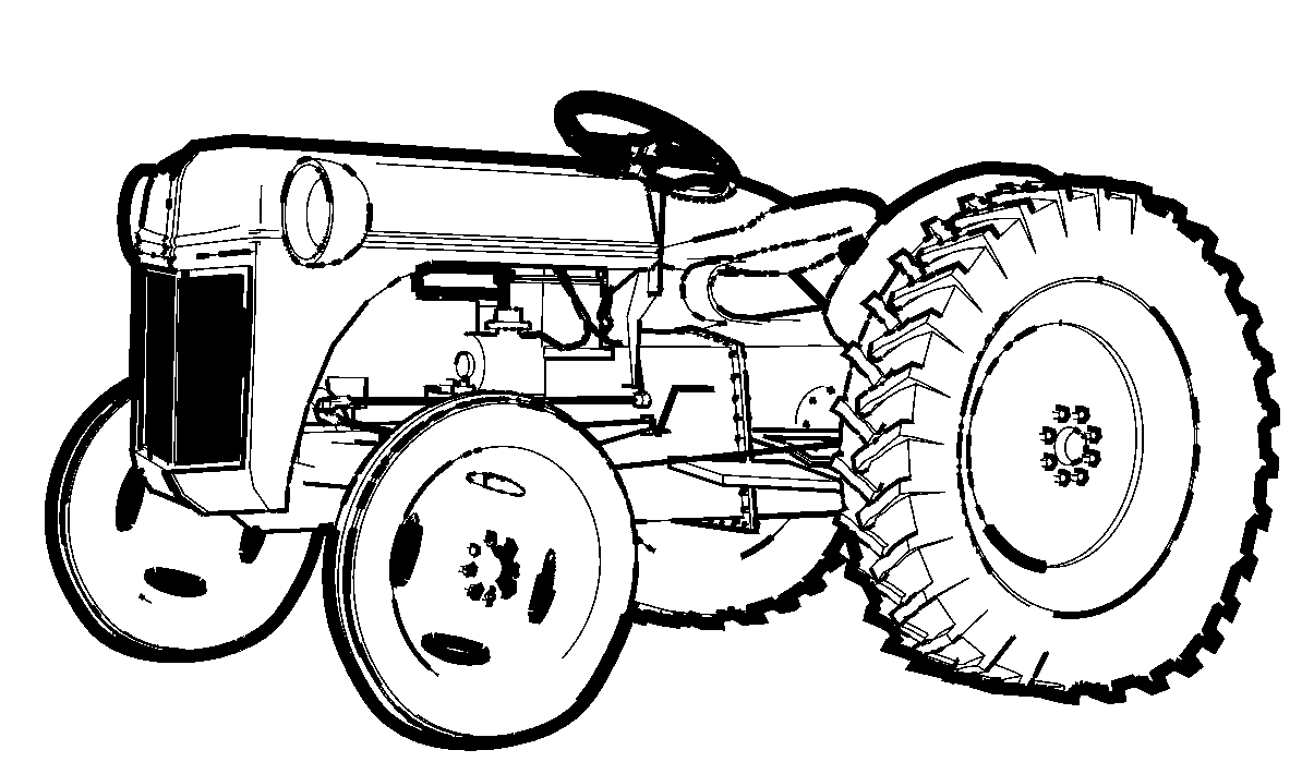 coloring page tractor 25 best tractor coloring pages to print page coloring tractor