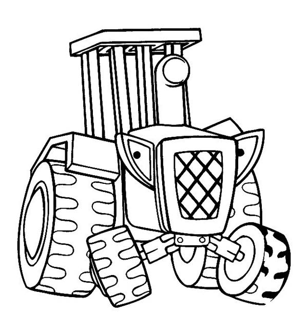 coloring page tractor big boss tractor coloring pages to print free tractors tractor page coloring