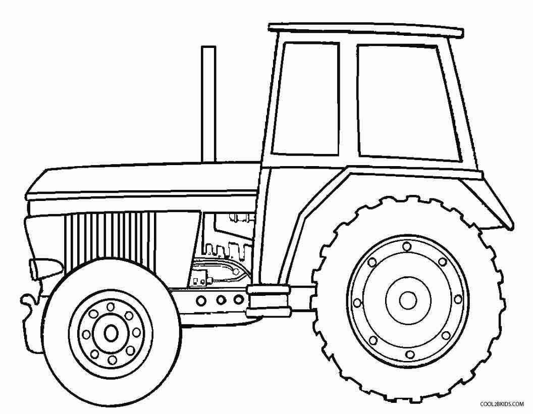 coloring page tractor free printable tractor coloring pages for kids tractor page coloring