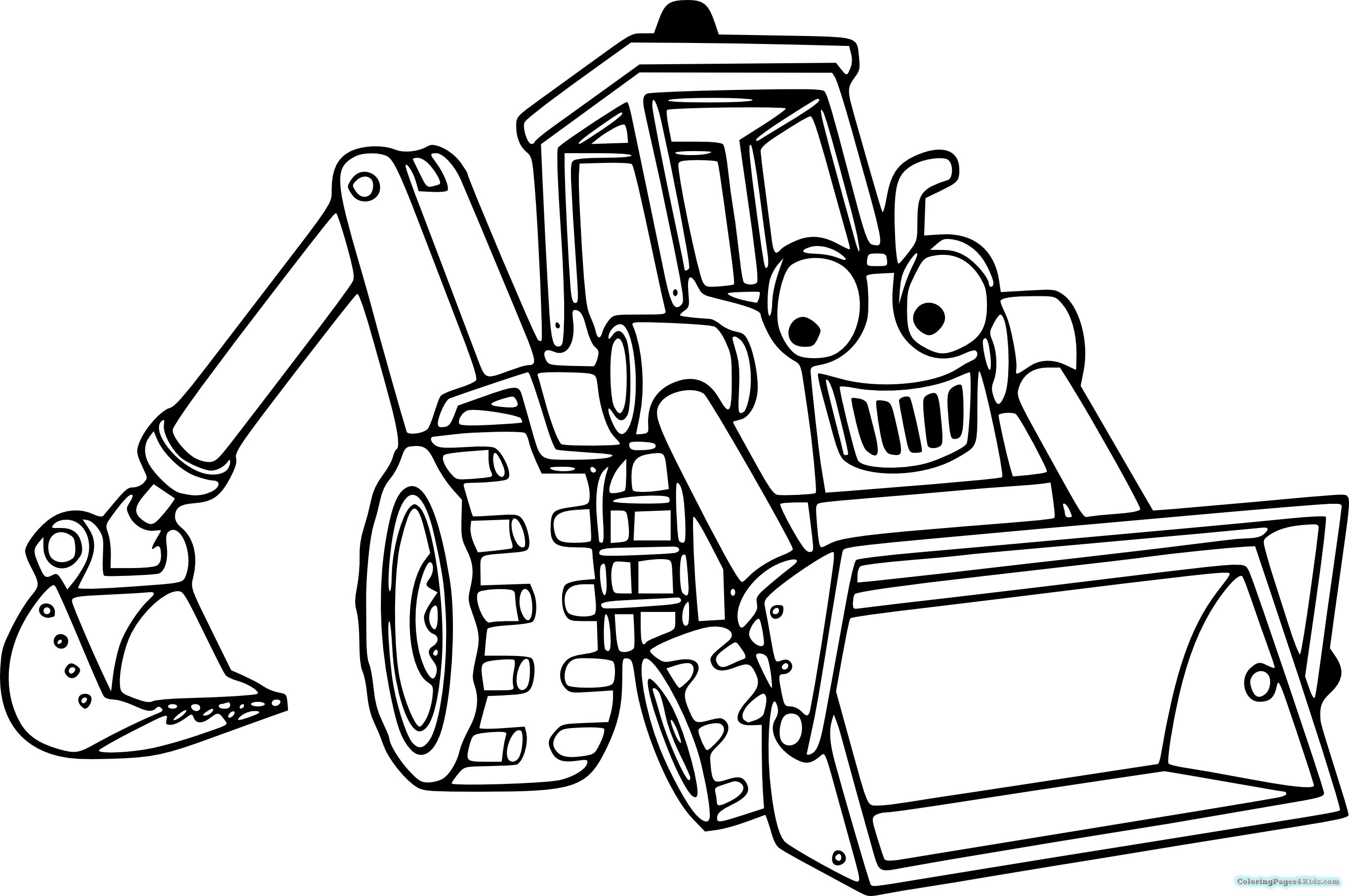 coloring page tractor rugged tractor coloring pages yescoloring free coloring tractor page