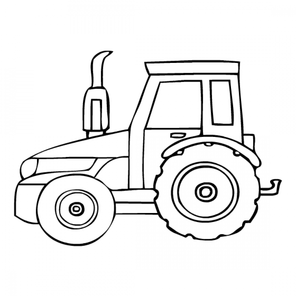coloring page tractor tractor coloring pages coloring tractor page
