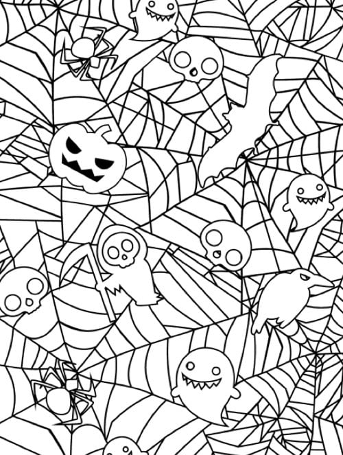 coloring page websites get the coloring page spiderweb halloween coloring page websites coloring page