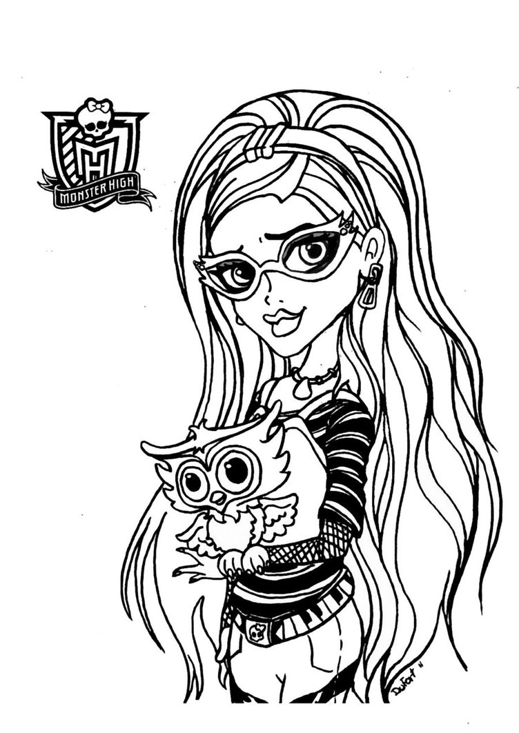 coloring page websites monster high to print monster high kids coloring pages websites coloring page