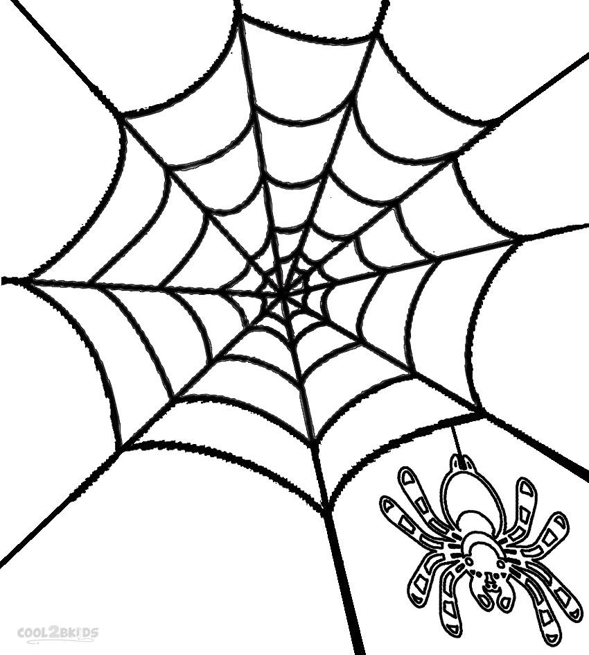 coloring page websites printable spider web coloring pages for kids page websites coloring
