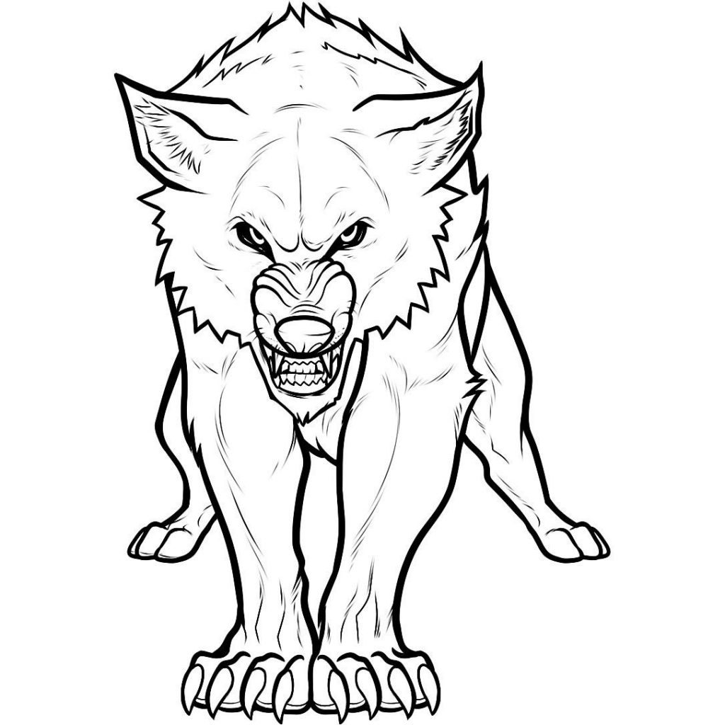 coloring page wolf print download wolf coloring pages theme wolf coloring page 1 2