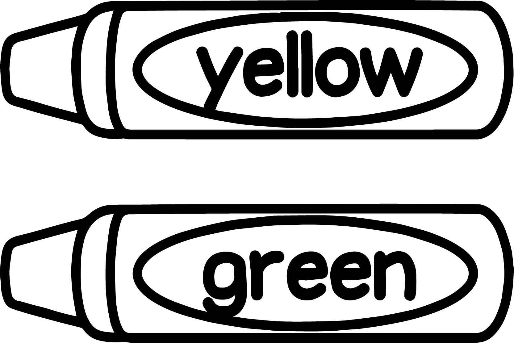 coloring page yellow crayon red coloring pages printable coloring home yellow coloring page crayon