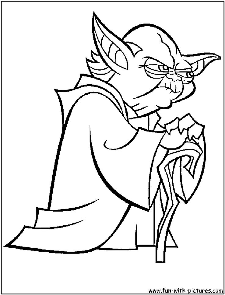 coloring page yoda easy yoda coloring pages yoda coloring page