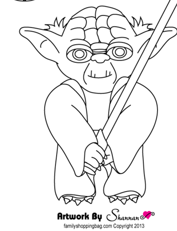 coloring page yoda star wars coloring pages yoda coloring home page coloring yoda