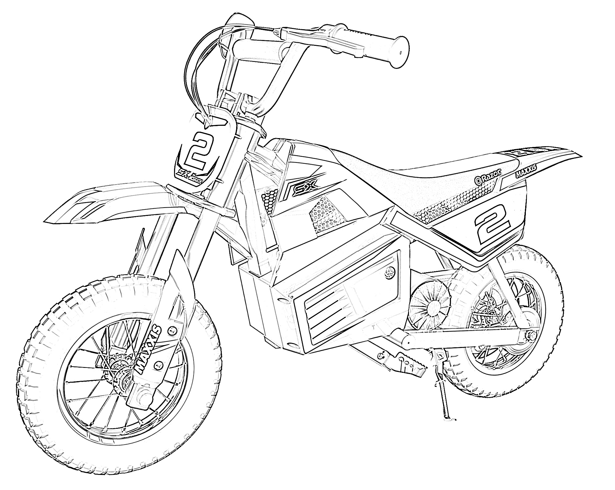 coloring pages bikes 10 free dirt bike coloring pages for kids save print pages coloring bikes