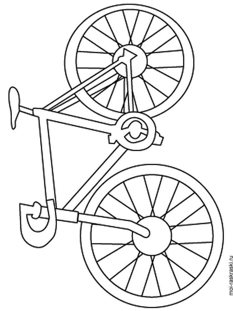 coloring pages bikes bicycle coloring page coloring home bikes coloring pages