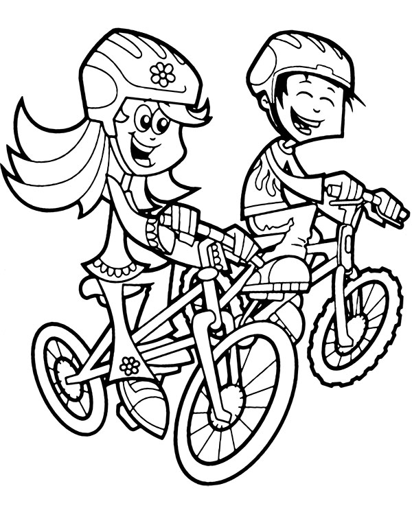 coloring pages bikes bicycle coloring page free printable coloring pages bikes pages coloring