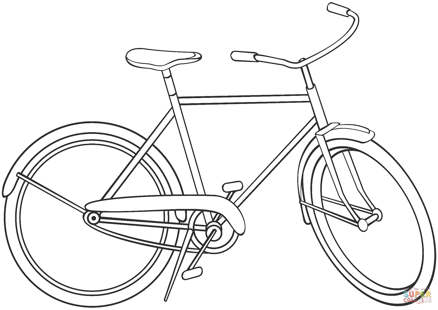 coloring pages bikes bicyclebike coloring pages bikes coloring pages