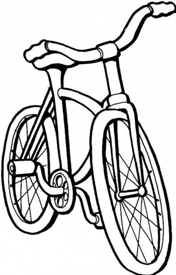 coloring pages bikes bike coloring page getcoloringpagescom pages bikes coloring 1 1
