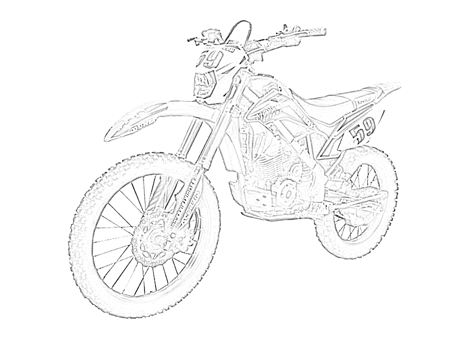coloring pages bikes coloring 2 dirt bikes free motorbike pages dirt bikes pages coloring bikes