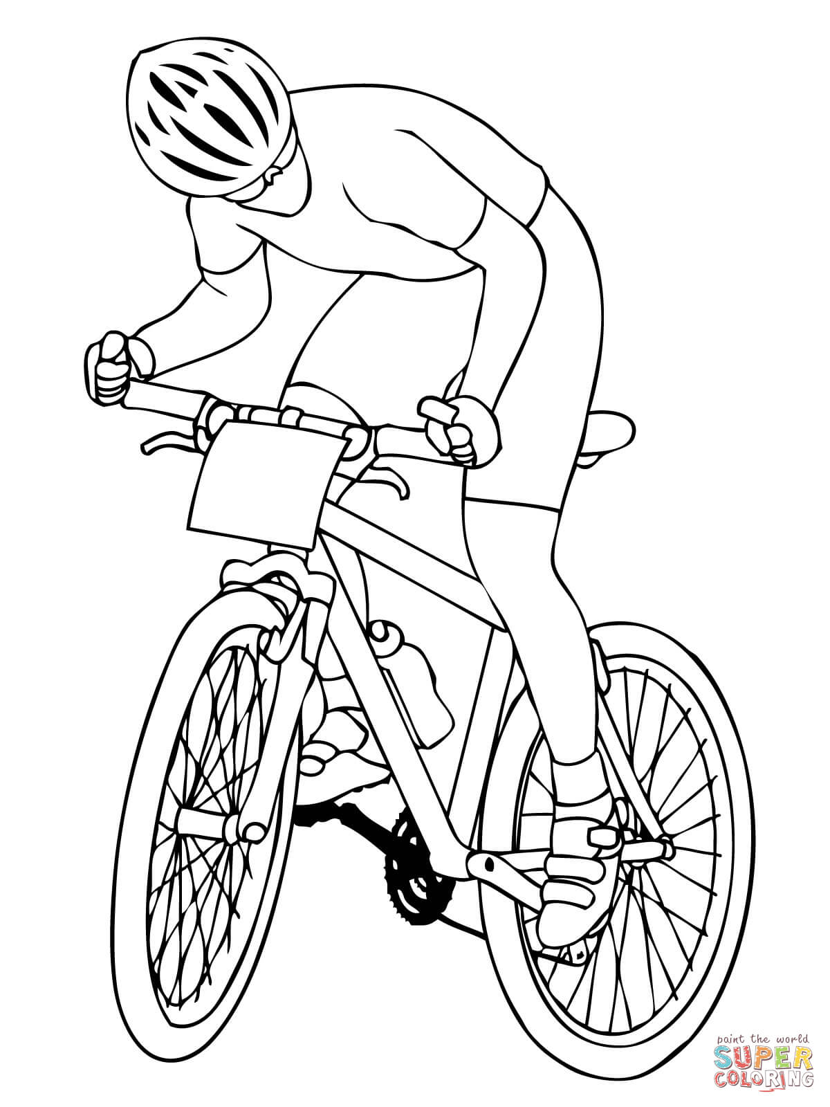 coloring pages bikes mountain bike coloring pages coloring home coloring pages bikes
