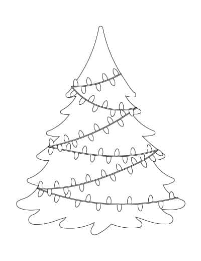 coloring pages christmas tree lights 1006 best coloring kids images on pinterest christmas lights christmas pages coloring tree