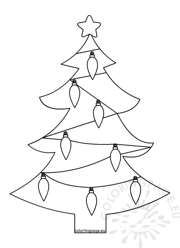coloring pages christmas tree lights christmas tree lights coloring pages get coloring pages christmas coloring tree pages lights