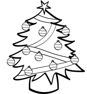 coloring pages christmas tree lights free printable christmas tree coloring pages the artisan lights coloring tree christmas pages