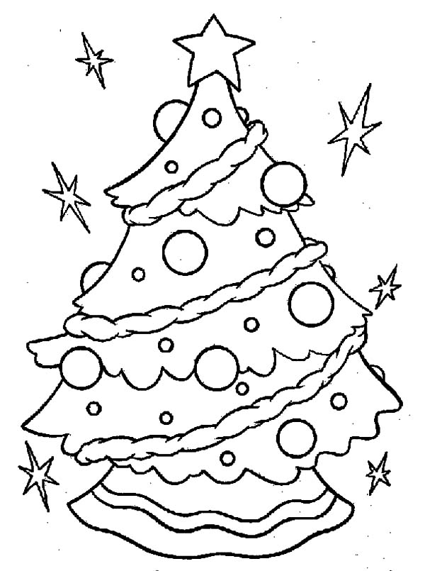 coloring pages christmas tree lights kidprintablescom coloring pages coloring tree lights pages christmas