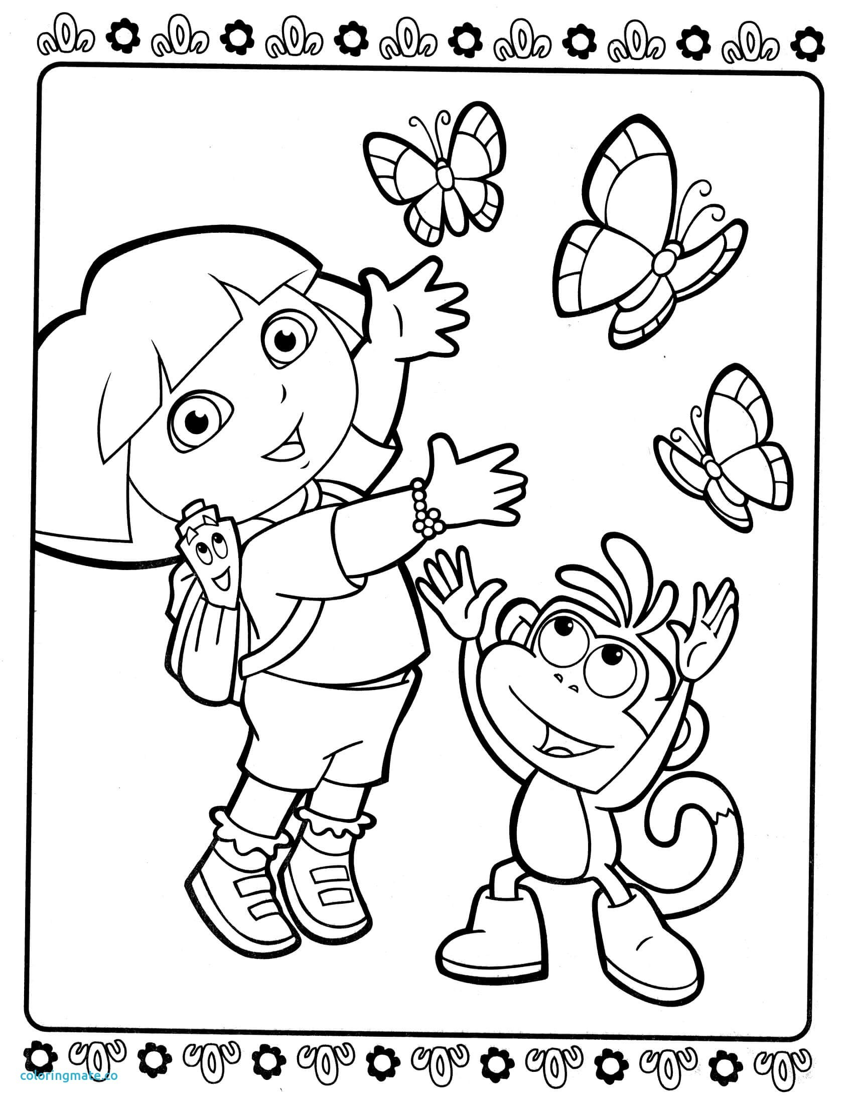 coloring pages dora and friends dora and friends coloring pages to download and print for free coloring pages dora friends and